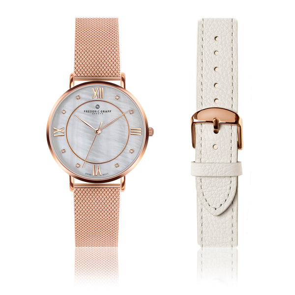 Set of Watch and Bracelet Rose Liskamm