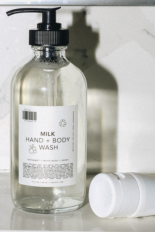 Milk Hand + Body Wash // Hand Cream Bundle
