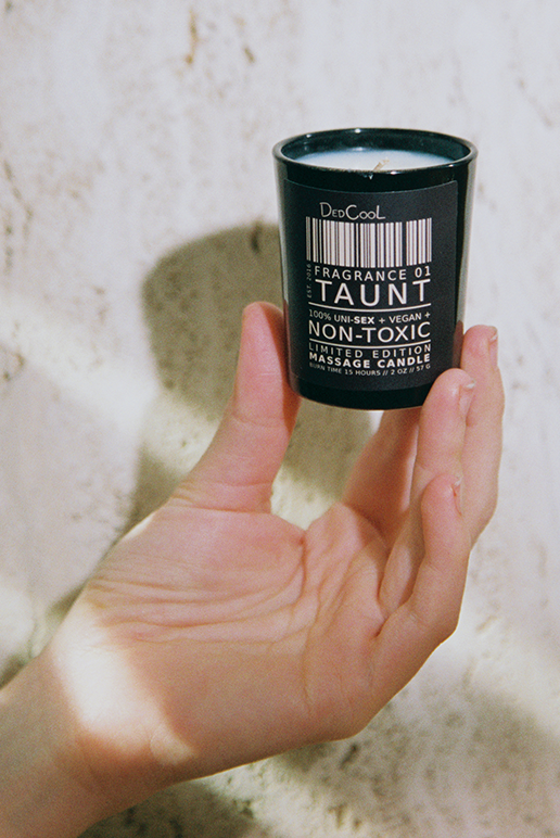 "MINI DedCool Massage Candle 01 ""Taunt"""