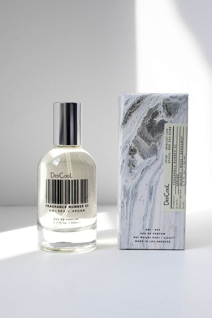 "Dedcool Fragrance 05 ""Spring"". Uni-sex, Non-Toxic, Vegan Fragrance. Made in Los Angeles. Clean, Natural, Organic, Safe."