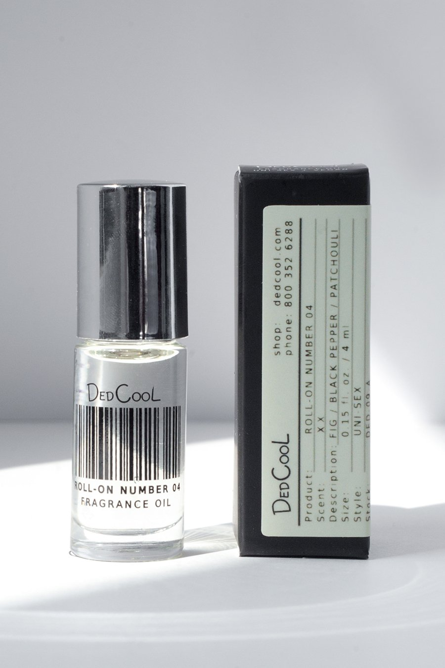 DedCool Roll-On 04. Uni-Sex, Non-Toxic, Vegan, Natural, Clean, Safe, Organic Fragrance Oil. Made in Los Angeles.