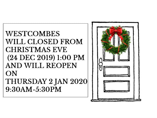 Christmas & New Year Store Closures