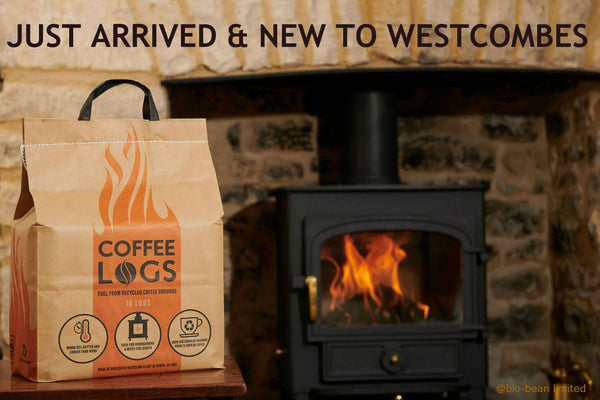 Introducing Coffee Logs - Eco Briquettes Made From Waste Coffee Grounds