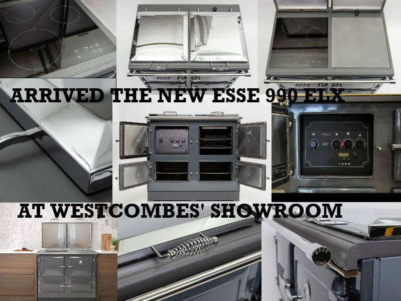 The Brand New ESSE 990 ELX Electric Range Cooker is now in our Showroom