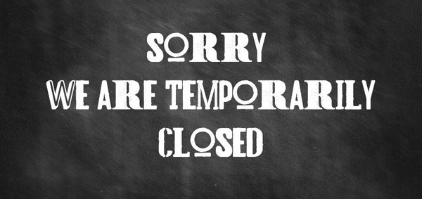 We are now in a lock down situation so the shop has closed temporarily  during this period as per the Government advice