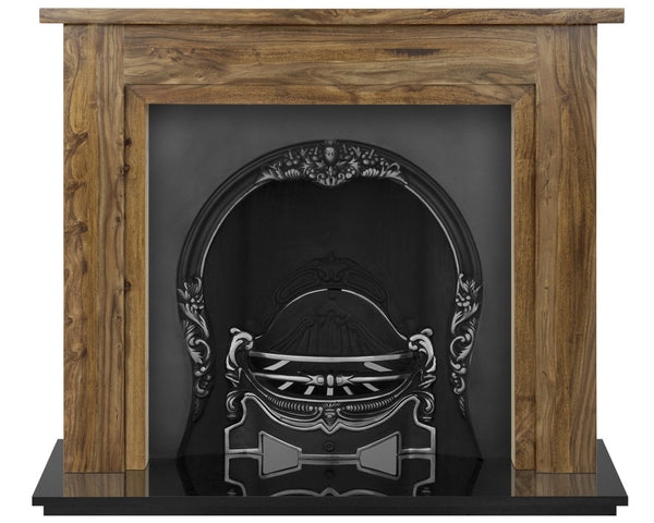 The Tiffany Cast Iron Fireplace Combination