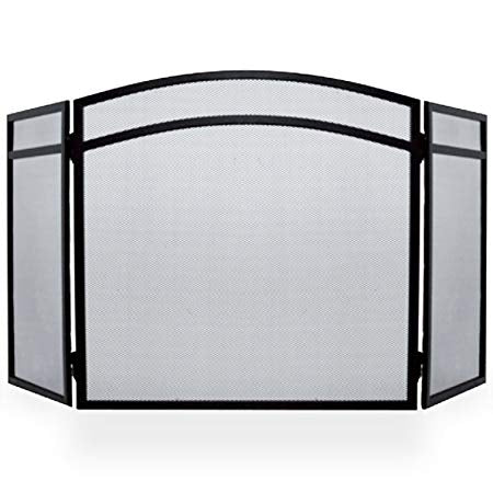 Classic 3 Panel Fire Screen