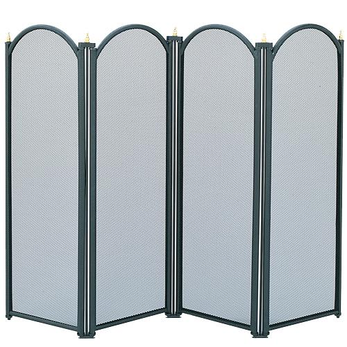 4 Fold Fire Screen