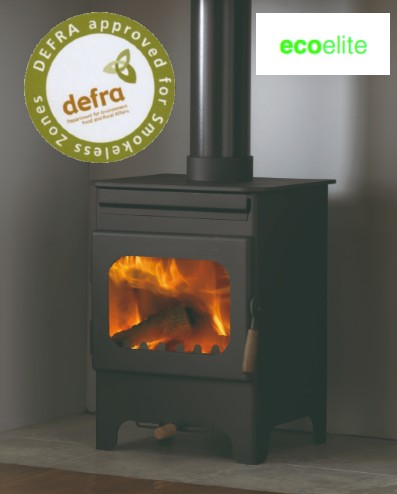 Debdale 9104-C Wood Burning Stove with Catalytic Converter