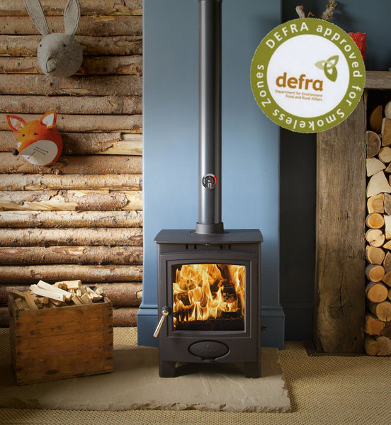 Ex Display Aarrow Ecoburn Plus 5 - Multi Fuel Stove