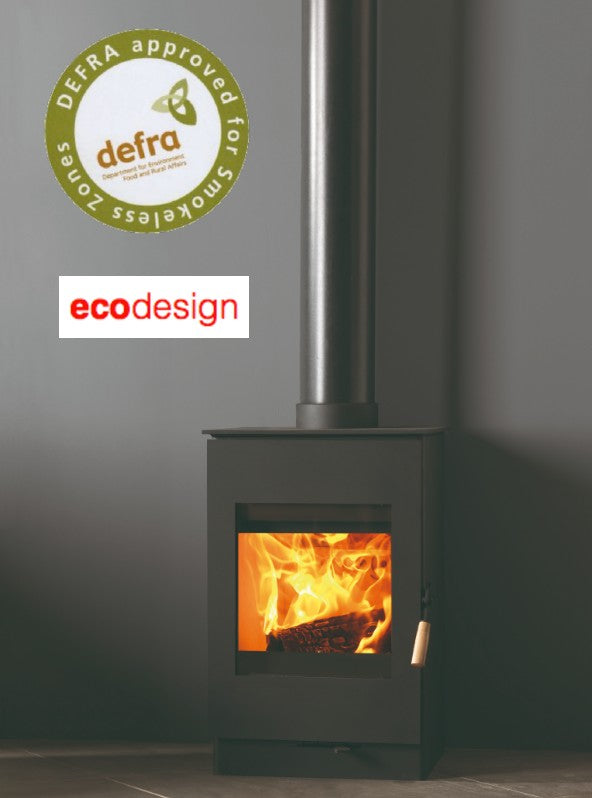 Burley Bradgate 9305-C Wood Burning Stove with Catalytic Converter