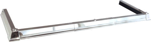Classic Base Hearth Fender - All Silver