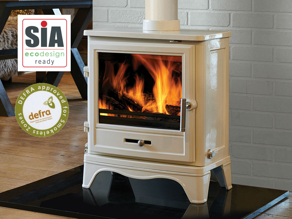 The Barrington Eco Skirted - Multi Fuel Stove