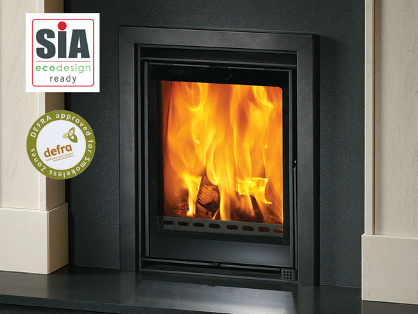 The Savona Eco Inset Multi Fuel Stove