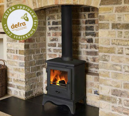 Capital Fireplaces The Imperial 405 Multi Fuel Stove