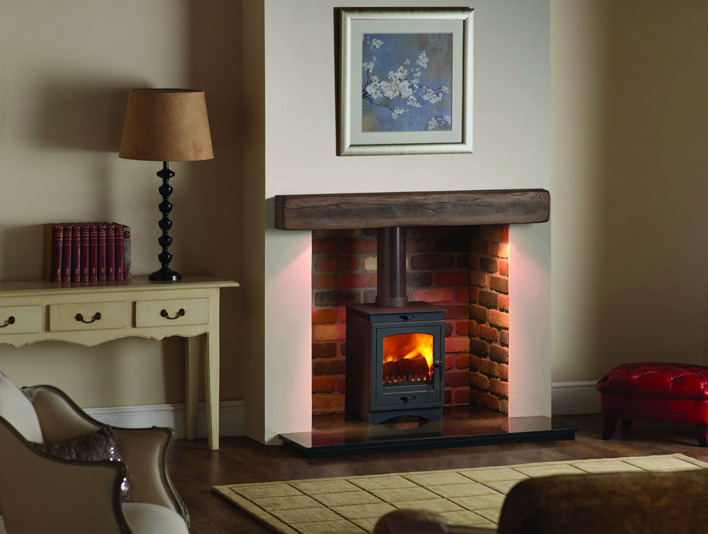 The Cascada 5 Freestanding  Multi Fuel Stove