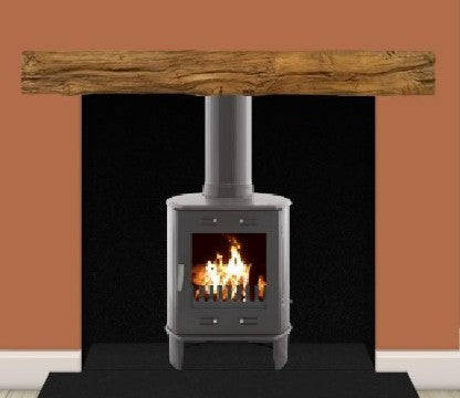 Carron Dante 5Kw - SE Wood Burning & Multi Fuel Stove