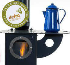 Ex Display The Chilli Billie - Wood Burning Stove Penguin Black