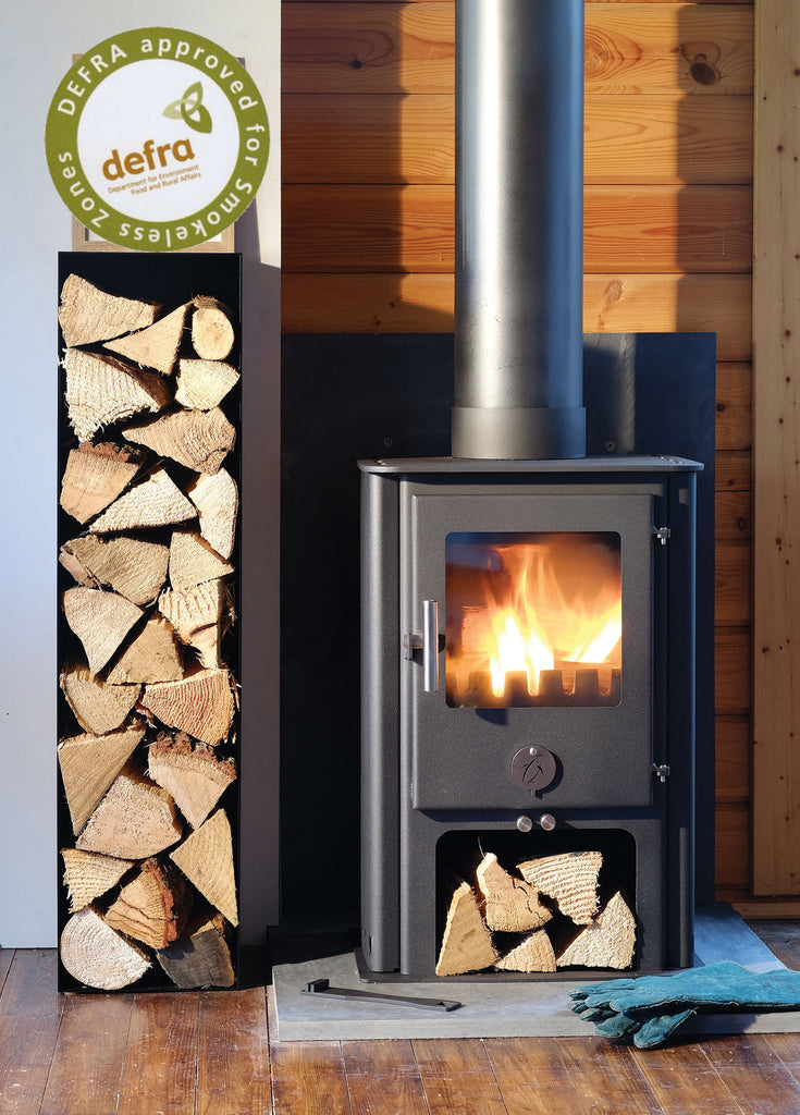 Ex Display The Chubby 5 - Multi Fuel Stove Penguin Black