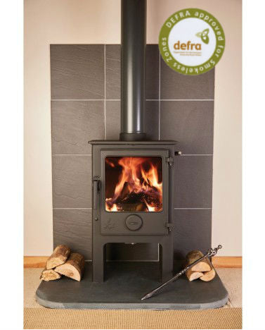Foxworthy Low 5Kw Wood Burner Stove