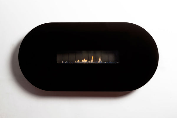 ESSE 48 Oval - Wall Mounted Flueless Gas Fire