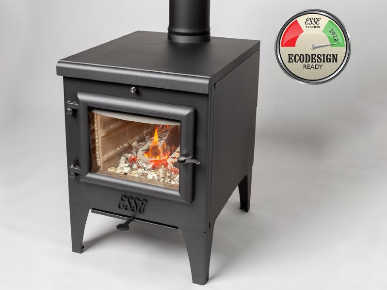 ESSE The Warmheart  'S' - Clean Burning Wood Fired Stove with Cook Top