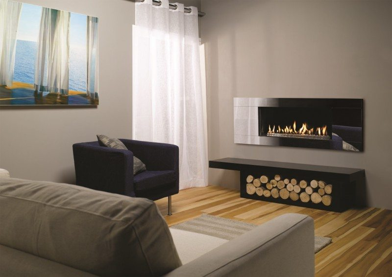 Gazco Studio 2 Gas Fire  - Conventional Flue Open Fronted