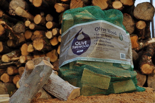 Olive Wood Logs Net Handy Bag