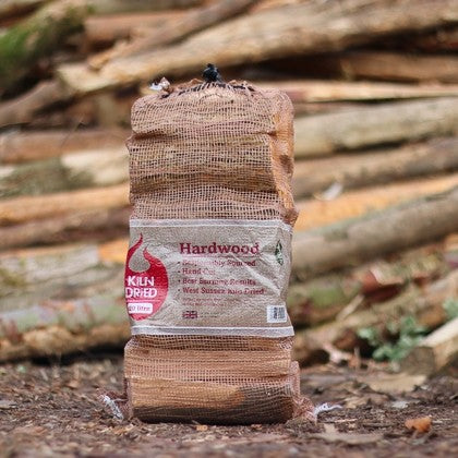 Kiln Dried Hardwood Logs Net Bag