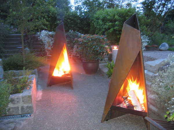 HETA Tipi The Outdoor Fireplace (960mm Height)