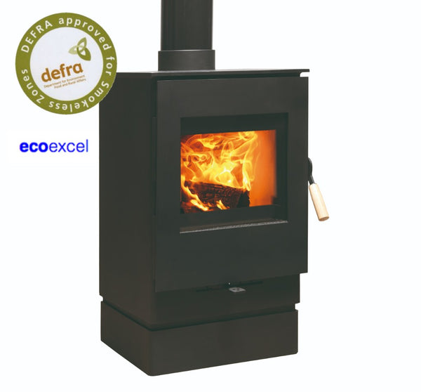 Burley Launde 9304-C Wood Burning Stove with Catalytic Converter
