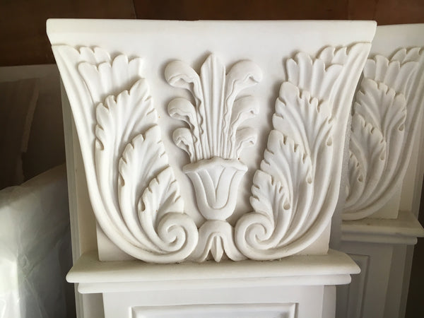 Acanthus Marble Fireplace Surround