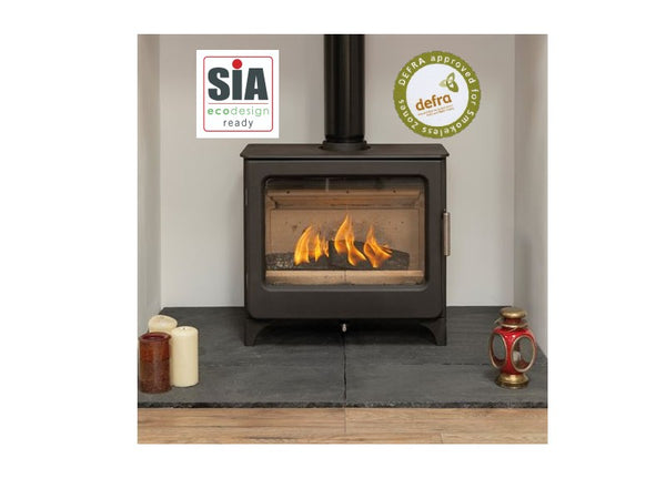 Mendip Stoves The Ascott Wide Catalyst  SE - Wood Burning Stove