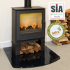 The Woodland Convection Logstore  - Multi Fuel Stove