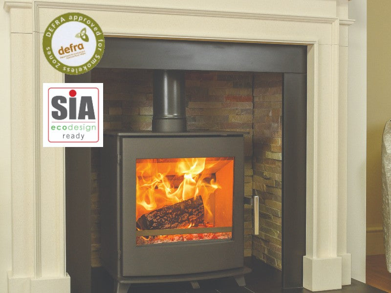 Pevex Newbourne 40FS  Direct Air Supply Ecodesign Freestanding - Wood Burning /Multi Fuel Stove