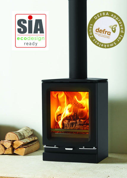 Vogue Small Eco - Wood Burning Stove