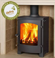 Town & Country Rosedale - Multi fuel Stove