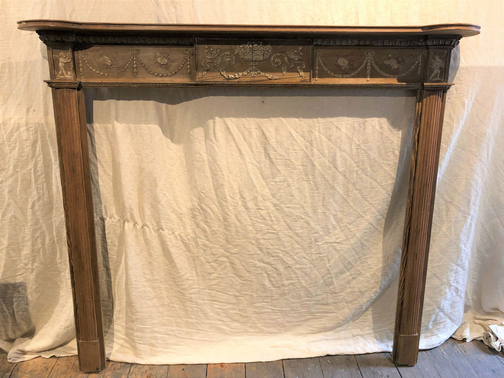 Early 20th Century Georgian Mantelpiece