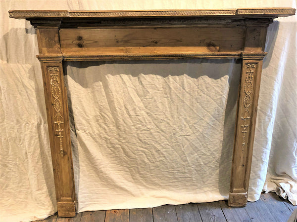 George III Antique Mantelpiece