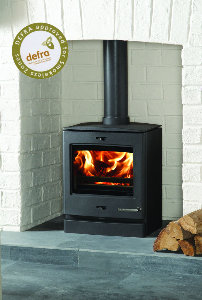 Ex Display CL5 - Multi Fuel Stove Matt Black