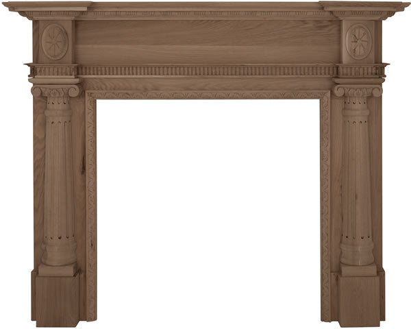 The Ashleigh Wooden Fireplace Surround
