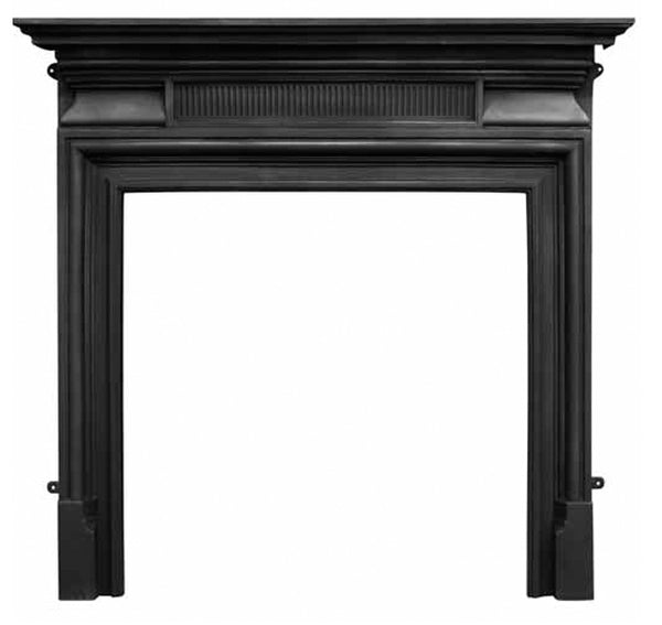 The Belgrave Cast Iron Fireplace Surround