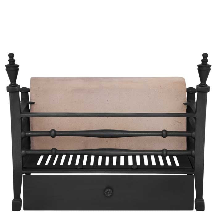 The Georgian Cast Iron Fire Basket