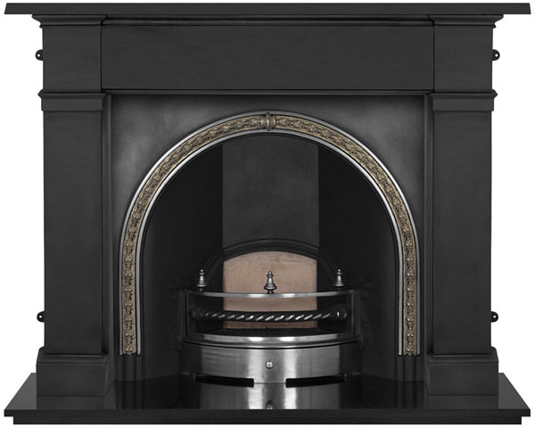 The Kensington Cast Iron Fireplace Insert