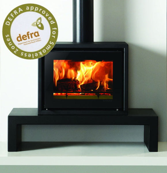 Ex Display Riva Studio 500 Freestanding - Wood Burning Stove