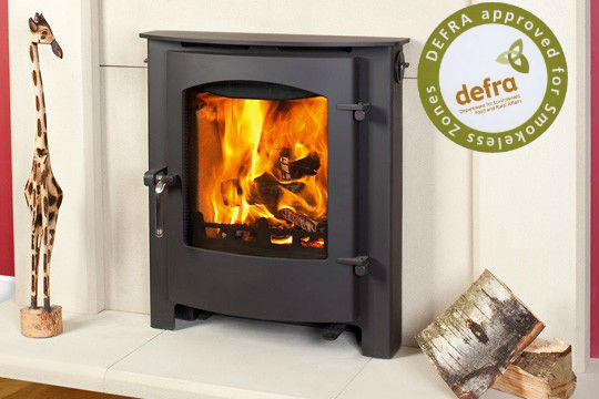 Ex Display Rosedale Inset Multi Fuel Stove