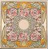Tube Lined Tiles - Alphonse Mucha Collection - Nocturnal Slumber