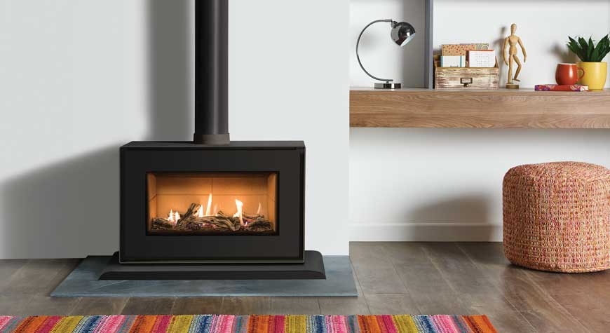 Studio 1 Gas Fire  - Freestanding Conventional Flue