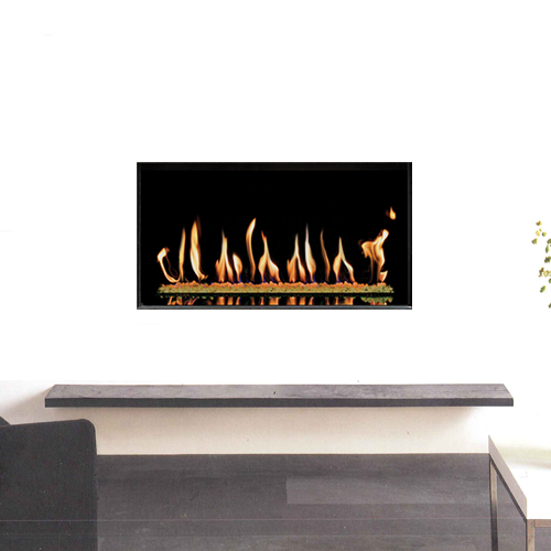 Studio 1 Gas Fire  - Conventional Flue Open Fronted