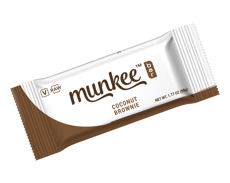 Munkee™ Bar - Coconut Brownie
